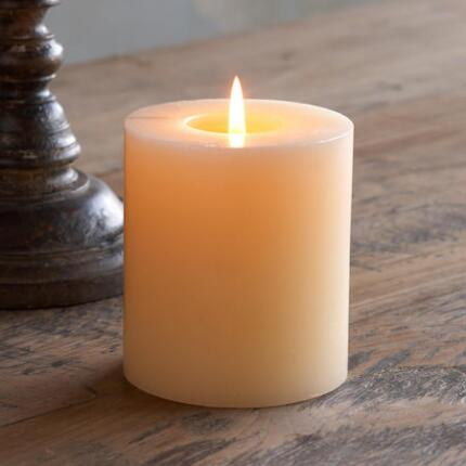 PLAIN PILLAR CANDLE
