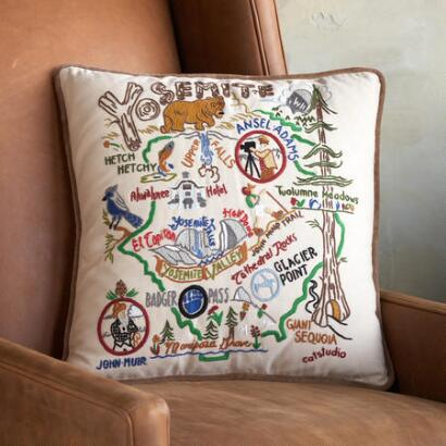 NATIONAL PARKS PILLOW