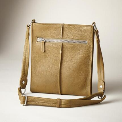 THREE-STITCH CROSSBODY BAG