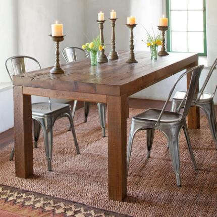 PLYMOUTH MODERNE DINING TABLE