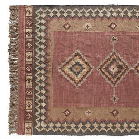 DIAMONDBACK DHURRIE RUG LARGE