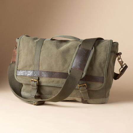 BROKEN-IN CANVAS BAG