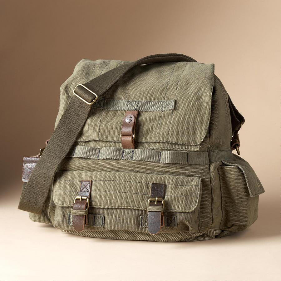BROKEN-IN CANVAS BACKPACK