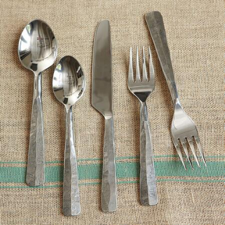 ROCKY RIDGE HAMMERED 5-PIECE PLACE SETTING