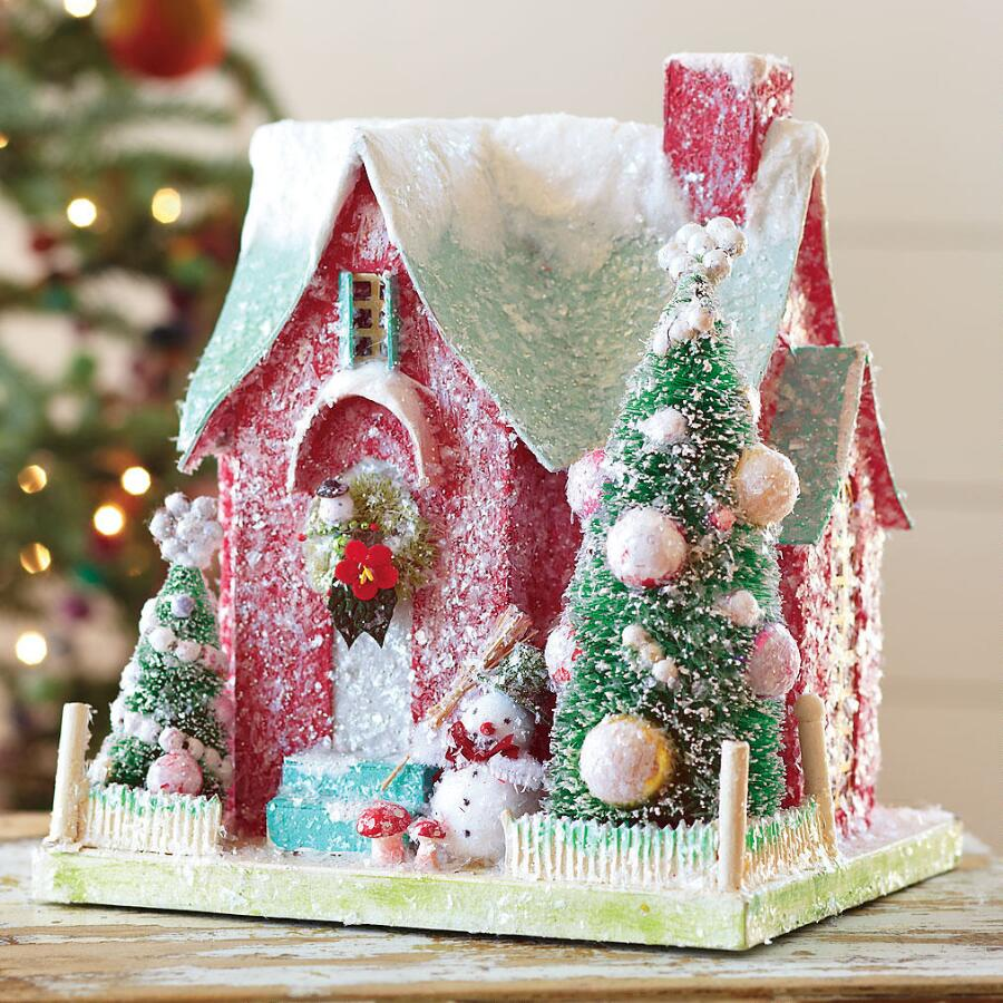 PAPER CLAUS HOUSE