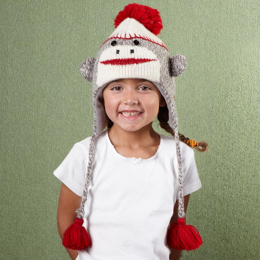 KIDS MONKEY HAT