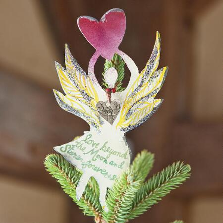 ANGEL HEART TREE TOPPER