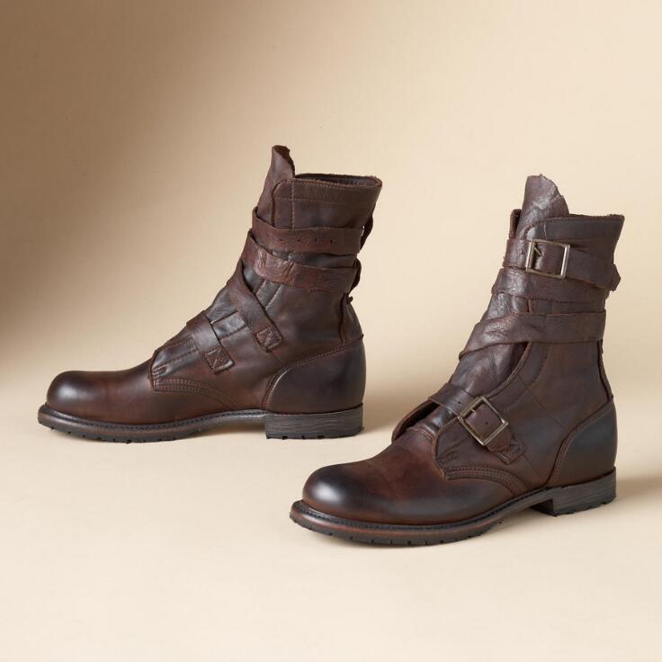 Tanker Boots By Vintage Shoe Co Boots Men S Footwear