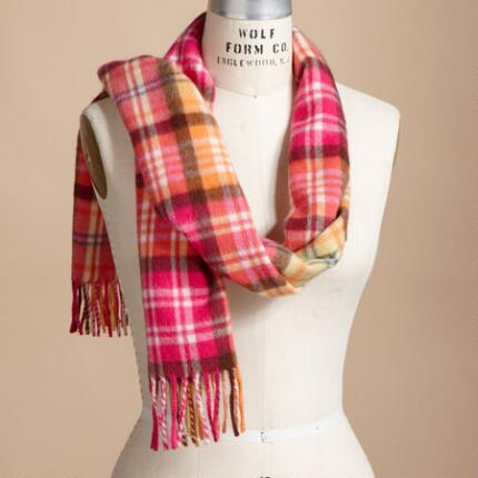 CONTEMPORARY CLAN PLAID MUFFLERS