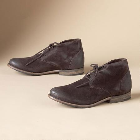 VAUGHN CHUKKA, BROWN SUEDE
