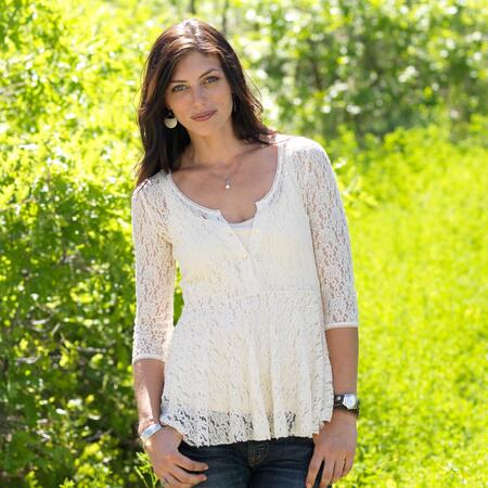 CHARMED LACE TOP