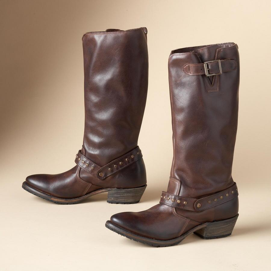HOLLY PULLON RIDING BOOT