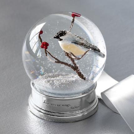 ODE TO JOY SNOW GLOBE