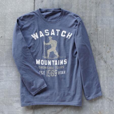 WASATCH SNOWSHOE TEE