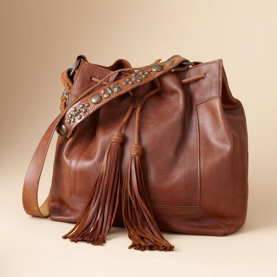 TWO BAR WEST TASSEL BAG
