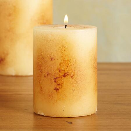 3X4 ANTIGUA PILLAR CANDLE