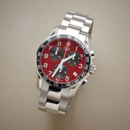 VICTORINOX SWISS ARMY® CHRONO CLASSIC IN RED