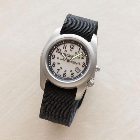 TITANIUM BLACK FIELD WATCH