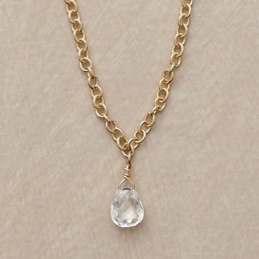 BRILLIANT DIAMOND BRIOLETTE NECKLACE
