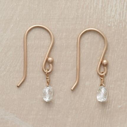 BRILLIANT DIAMOND BRIOLETTE EARRINGS