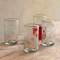 JARDIN GLASSES, SET OF 4