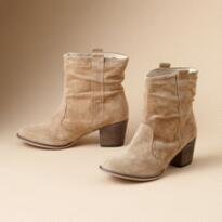SHAY SUEDE BOOTS