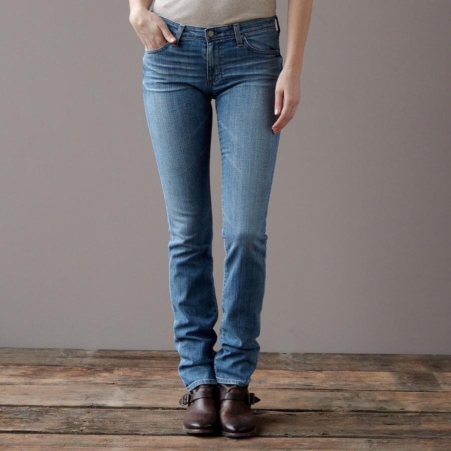A G PREMIERE SKINNY IN 18 YEAR WASH JEANS