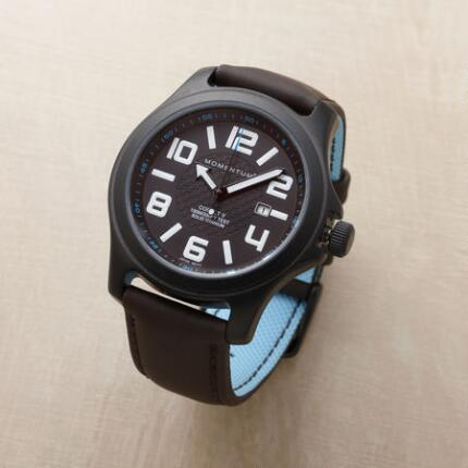BLACK ION TITANIUM FIELD WATCH