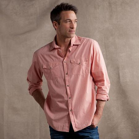 SPRING WESTERN CHECK SHIRT