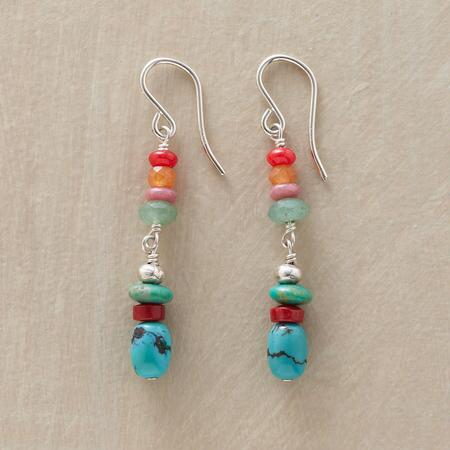 COLOR STACK EARRINGS