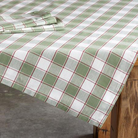 MADRAS PLAID TABLECLOTH