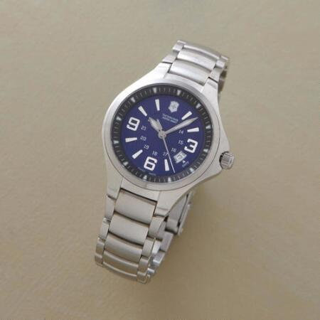 TRUE BLUE SWISS ARMY WATCH