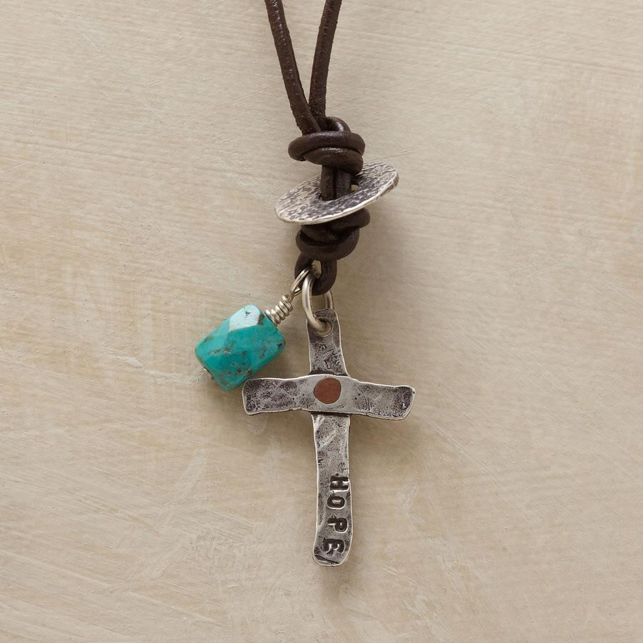 HOPE AND LUCK NECKLACE
