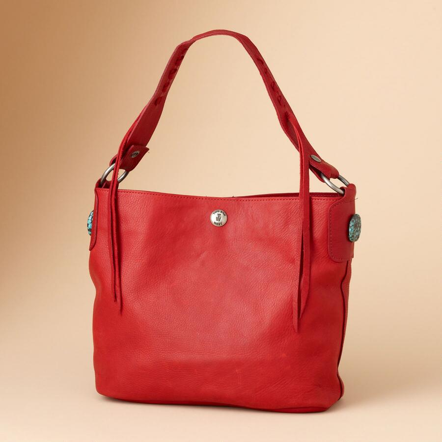 RED RIVER BUCKET BAG