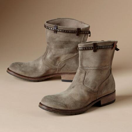 MOTO SUEDE BOOTS