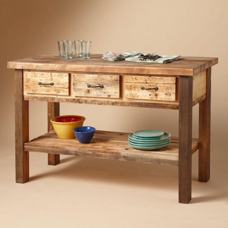 Edison Factory Kitchen Island Dining Tables Islands Furniture