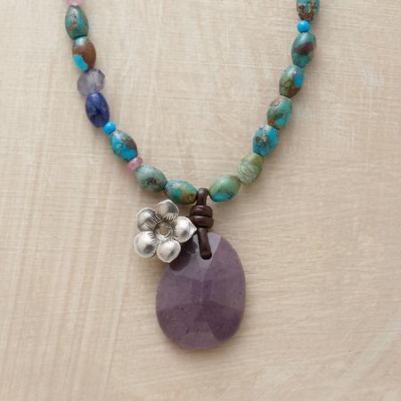 LAVENDER JASPER NECKLACE