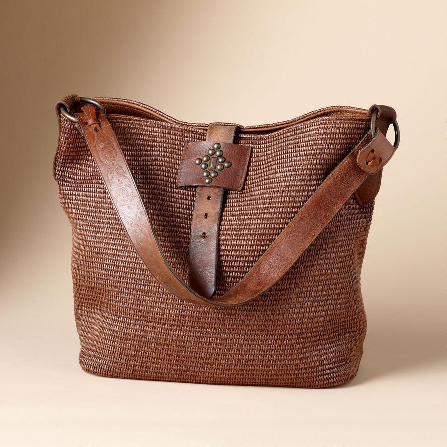 VINTAGE-STRAP SONORAN BAG