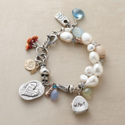 PERSONALIZED LOCKET BRACELET