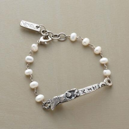 PERSONALIZED ANGEL BRACELET