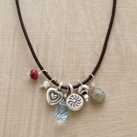 HEART SONG CHARM NECKLACE