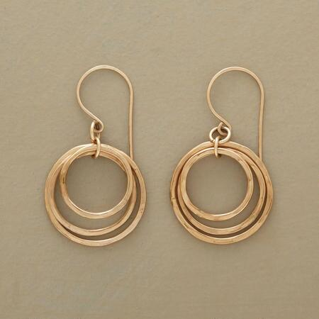 CIRCLE OF THREE EARRINGS