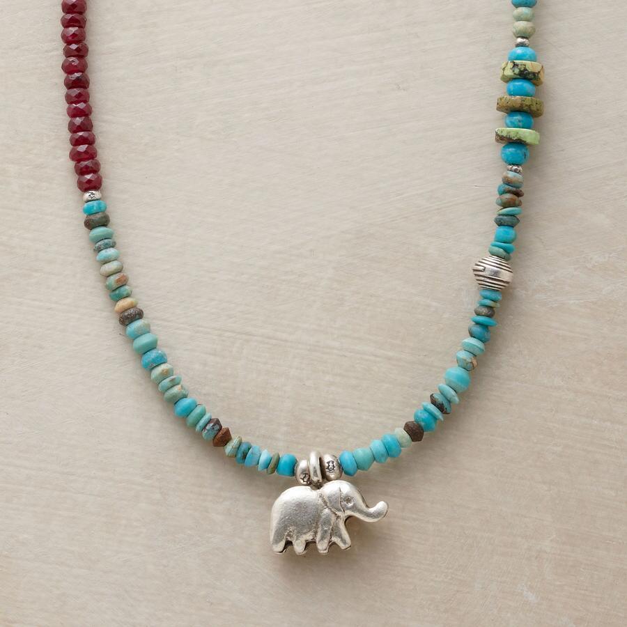 ELEPHANT CHARM NECKLACE
