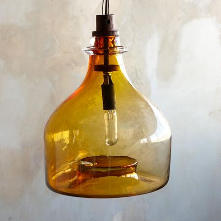 RIVENDELL GLASS PENDANT CHANDELIER