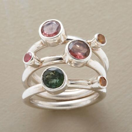 TOURMALINE RING TRIO