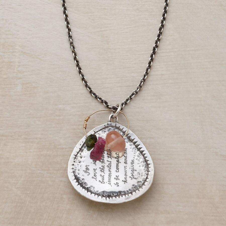 KNOW & FORGIVE NECKLACE