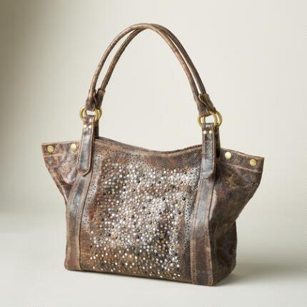 GO ANYWHERE GLITTER HANDBAG