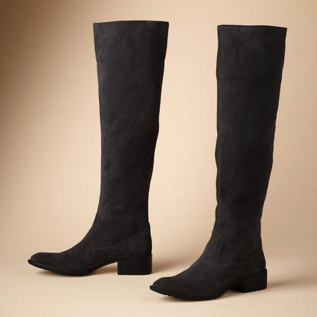 Versatile, comfortable, and chic, these knee-high suede boots are a cool-weather essential.