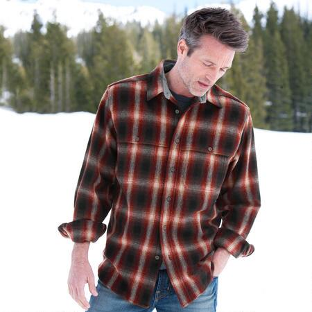 PROSPECTORS PLAID WOOL SHIRT