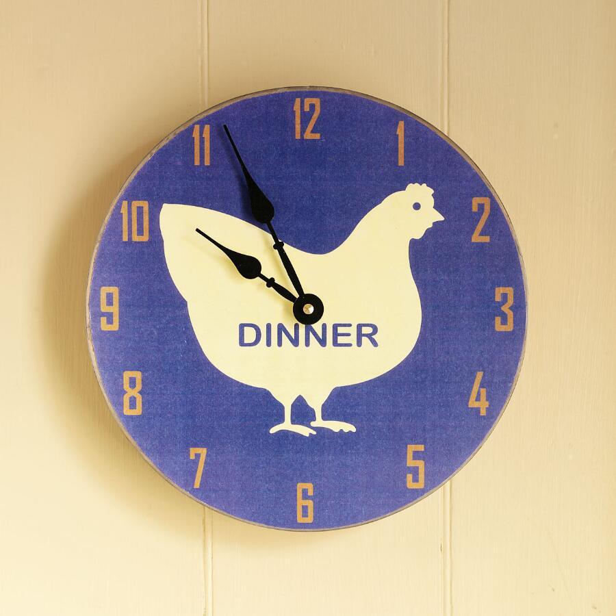 CLASSIC CHICKEN DINNER CLOCK